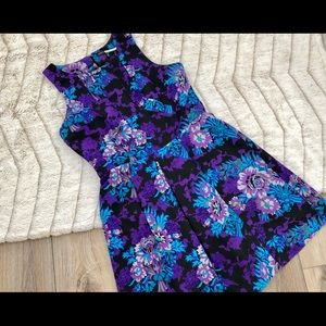 Plenty Tracy Reese Vibrant Floral Cocktail Dress
